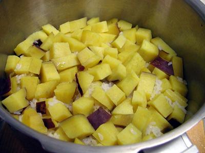 サツマイモご飯