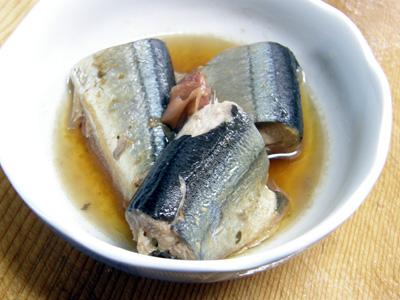 秋刀魚の梅干煮