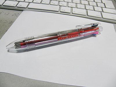 6色ボールペン