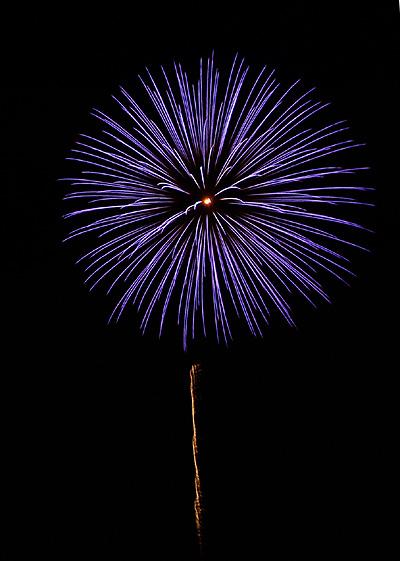 除夜の花火